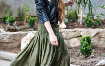 Long Skirts + Leather Boots, Spring Style Skills