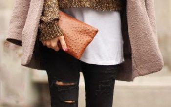 How to Layer Knitwear with Shirt to Look Very Beautiful?
