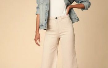 5 Ways to Wear White Jeans to Look Tall and Thin
